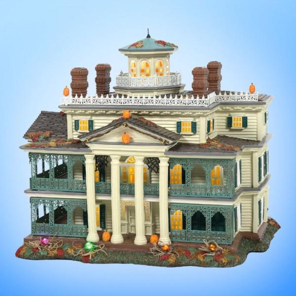 Disney Village - Disneyland Geistervilla Haunted Mansion beleuchtet 6007644RP