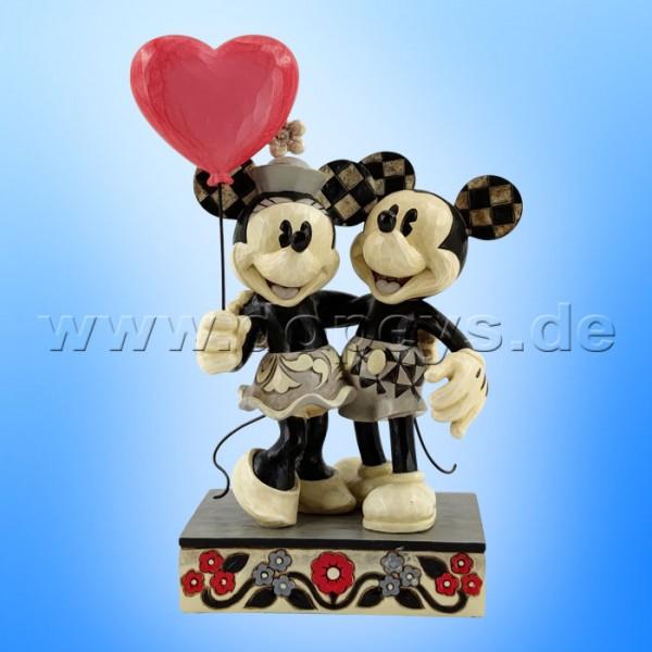 Disney Traditions - Love is in the Air (Mickey & Minnie mit Herzballon) von Jim Shore 6010106
