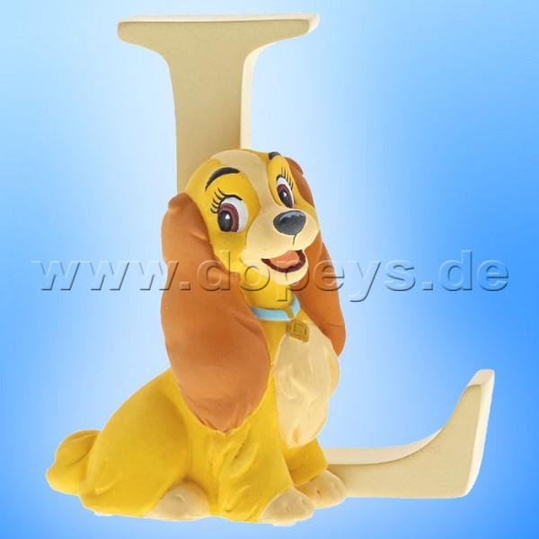 "Enchanting Disney Collection - Buchstabe ""L"" - Susi Figur von Enesco A29557"
