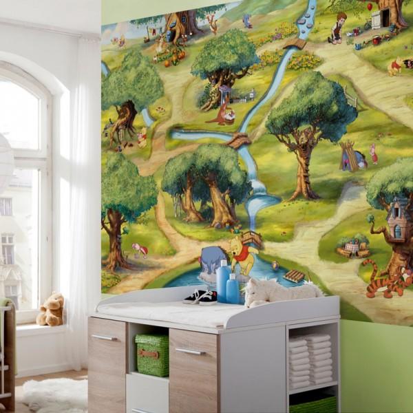 "Disney Winnie Puuh Fototapete ""Hundertmorgenwald"""
