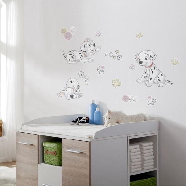 "Disney Wandsticker / Wandaufkleber 101 Dalmatiner ""Best of Friends"""