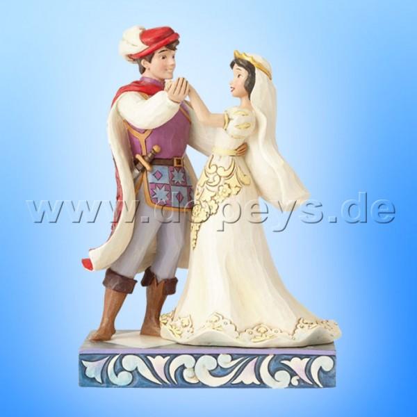 """Disney Traditions / Jim Shore Figur von Enesco """"The First Dance (Schneewittchen & Prinz Hochzeitsfigur)"""" 4056747."""