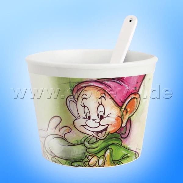 """Disney Eisbecher mit Eislöffel """"Seppl"""" im italienischen Design, 25 cl"""