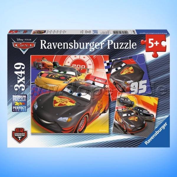 """Disney Puzzles """"Cars - Abenteuer auf der Straße"""" von Ravensburger 08001"""