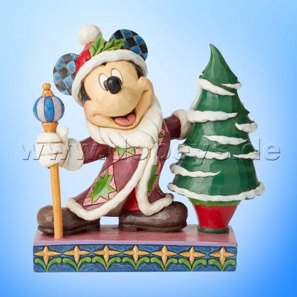Jolly Ol' St. Mick (Mickey Maus als Weihnachtsmann) Figur von Disney Traditions / Jim Shore - Enesco 6002831