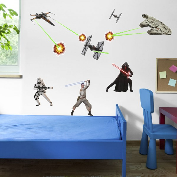 "Star Wars Wandsticker / Wandaufkleber ""Star Wars"""