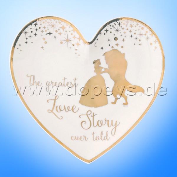 Disney Enchanting Collection - Belle Hochzeits-Schale / Teller für Eheringe A29336
