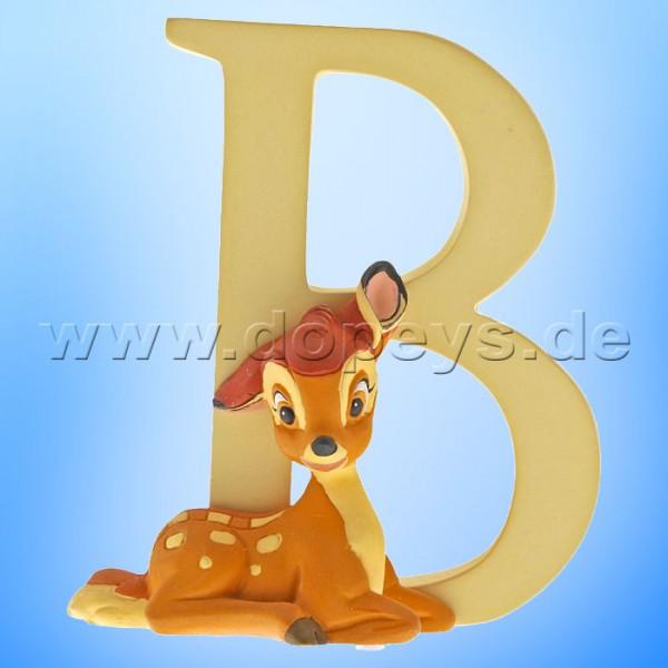 """Enchanting Disney Collection - Buchstabe """"B"""" - Bambi Figur von Enesco A29547"""