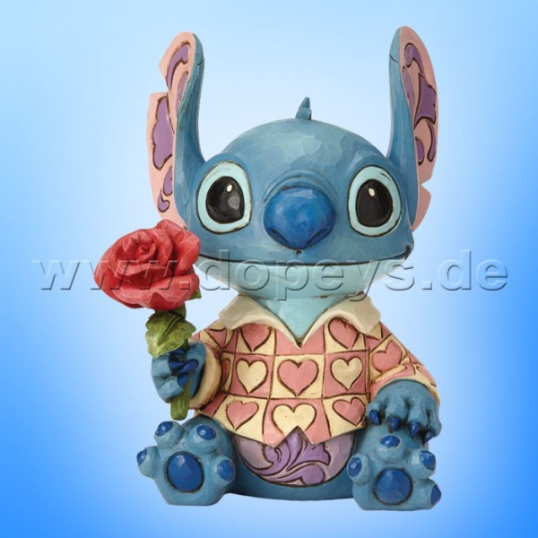 Clueless Casanova (Stitch Valentine) Figur von Disney Traditions / Jim Shore - Enesco 6001280