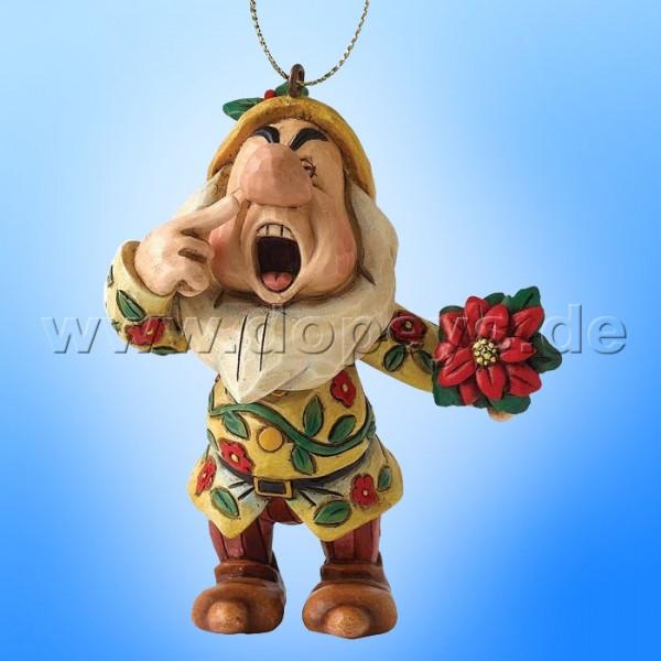 "Disney Traditions / Jim Shore Figur von Enesco.""Hatschi Ornament Baumanhänger"" A9045."