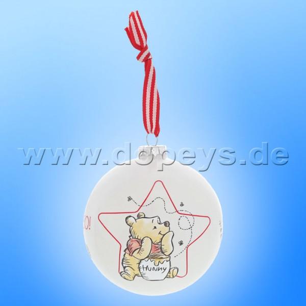 Disney Enchanting Collection - Winnie Puuh Weihnachtsbaumkugel / Glaskugel) A30245
