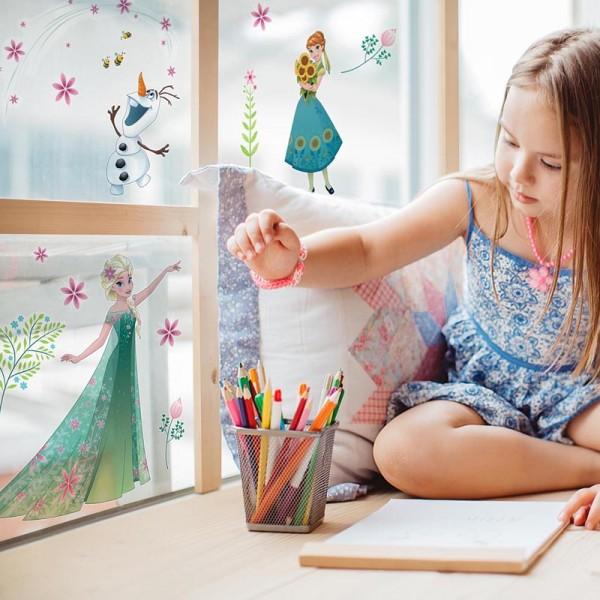 """Disney Fensteraufkleber / Window-Sticker Die Eiskönigin """"Frozen Flower"""""""