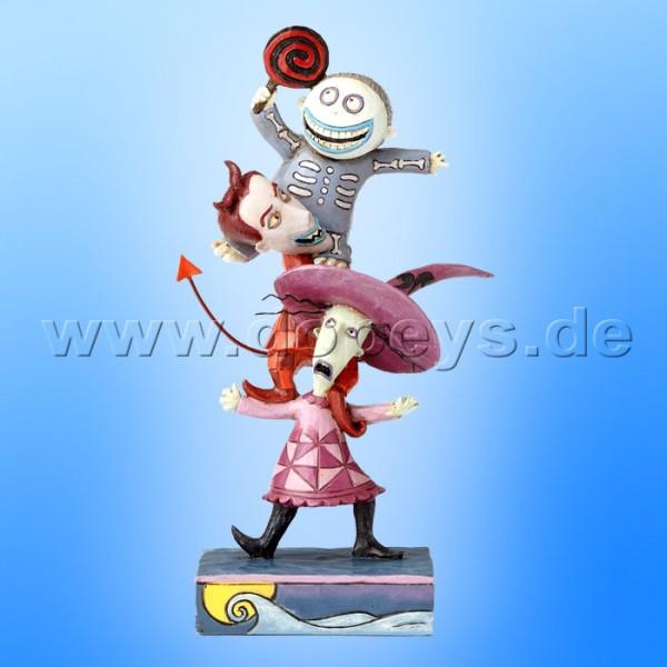 "Disney Traditions / Jim Shore Figur von Enesco ""Triple Trouble (Lock, Shock & Barrel)"" 4057952."