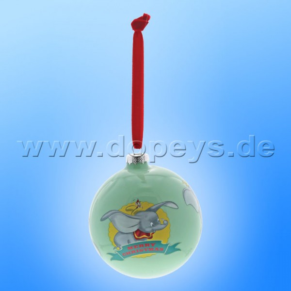 """Disney Enchanting Collection - Dumbo Weihnachtskugel / Glaskugel """"First Christmas"""" A29720"""