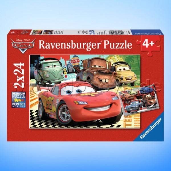 "Disney Puzzles Cars ""Neue Abenteuer"" von Ravensburger 08959"