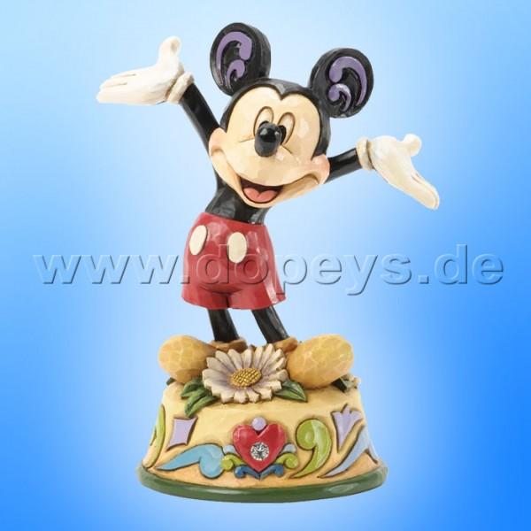 "Disney Traditions / Jim Shore Figur von Enesco ""April (Mickey Maus)"" 4033961."