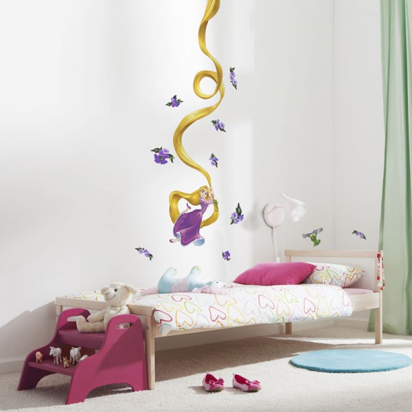 "Disney Wandsticker / Wandaufkleber ""Rapunzel"""