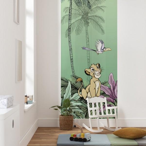 "Disney Vlies Fototapete Der König der Löwen ""Jungle Simba"" 1,00m x 2,80m"