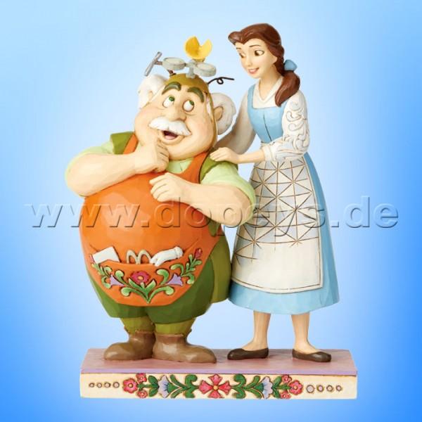 Devoted Daughter (Belle & Maurice) Figur von Disney Traditions / Jim Shore - Enesco 6002806