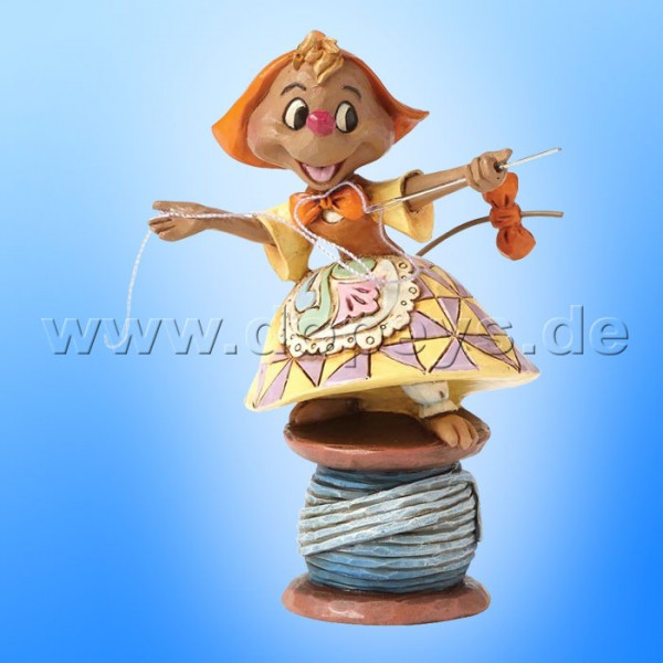 "Disney Traditions / Jim Shore Figur von Enesco. ""Cinderella's Kind Helper (Suzy)"" 4039085."