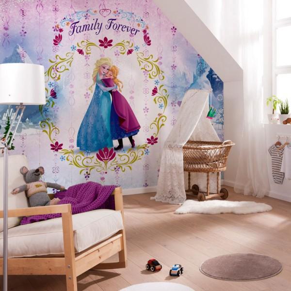 """Disney Fototapete Die Eiskönigin """"Frozen Family Forever"""""""