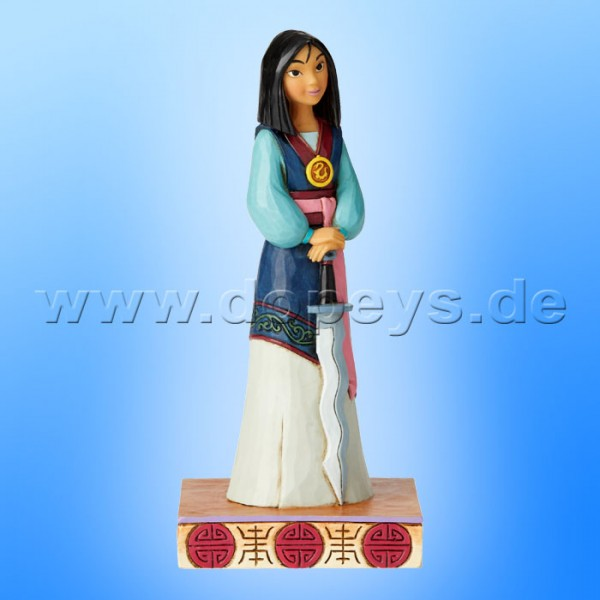 Winsome Warrior (Mulan Princess Passion) Figur von Disney Traditions / Jim Shore - Enesco 6002823
