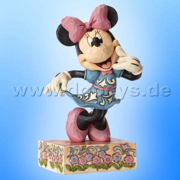 "Disney Traditions / Jim Shore Figur von Enesco. ""Call Me (Minnie Maus)"" 4049638."