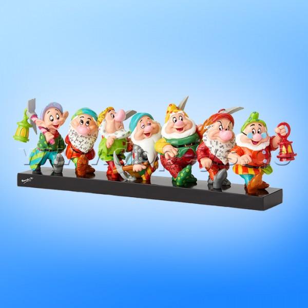 """Disney Figur - """"7 Zwerge"""" auf dem Heimweg von Romero Britto 6001300"""