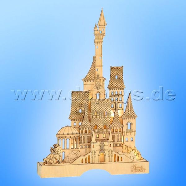 Disney Flourish - Die Schöne und das Biest Schloss Lichterhaus / Schwibbogen Department 56 6004005