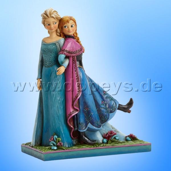 "Disney Traditions / Jim Shore Figur von Enesco. ""Sisters Forever (Anna & Elsa)"" 4039079."