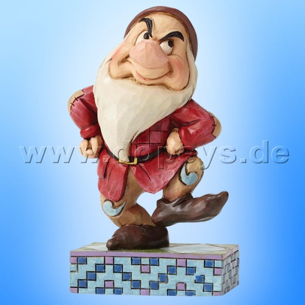 "Disney Traditions / Jim Shore Figur von Enesco. ""Grumpy Jig (Brummbär)"" 4049625."