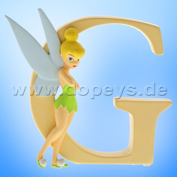 "Enchanting Disney Collection - Buchstabe ""G"" - Tinker Bell Figur von Enesco A29552"