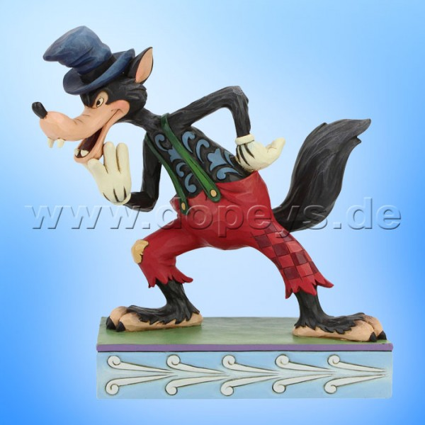 I'll Huff and I'll Puff! (Der große böse Wolf) Figur von Disney Traditions / Jim Shore - Enesco 6005973