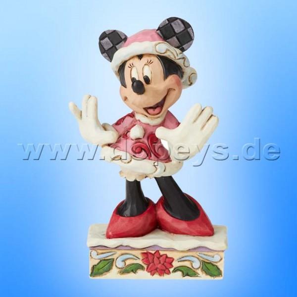 Festive Fashionista (Weihnachts-Minnie Maus Personality) Figur von Disney Traditions / Jim Shore - Enesco 6002843