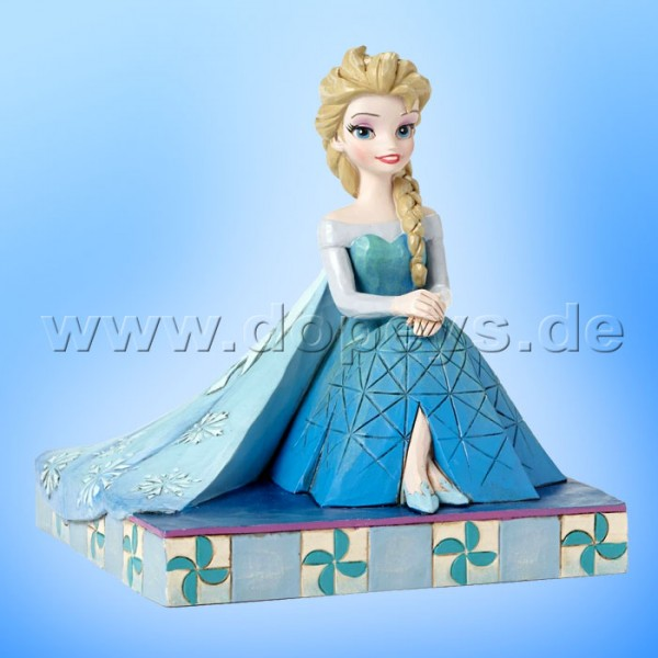 "Disney Traditions / Jim Shore Figur von Enesco. ""Be Yourself (Elsa)"" 4050406."