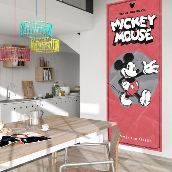 "Disney Vlies Fototapete Mickey Maus ""Mickey - American Classic"" 1,00m x 2,50m"