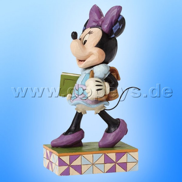 "Disney Traditions / Jim Shore Figur von Enesco.""Top of the Class (Minnie Maus)"" 4051996."