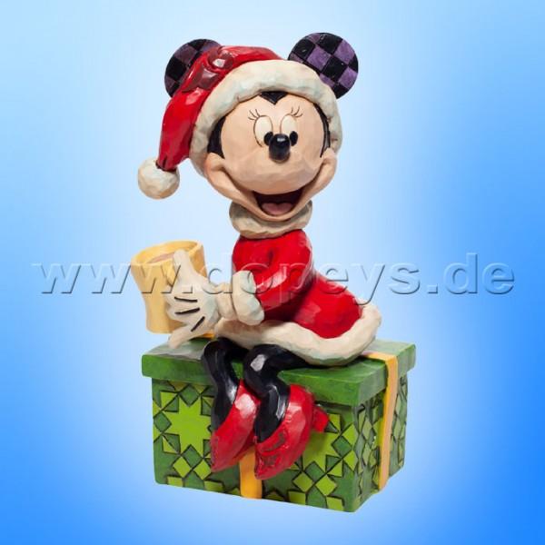 Disney Traditions - Chocolate Delight (Minnie als Weihnachtsfrau mit heißer Schokolade) von Jim Shore 6007069