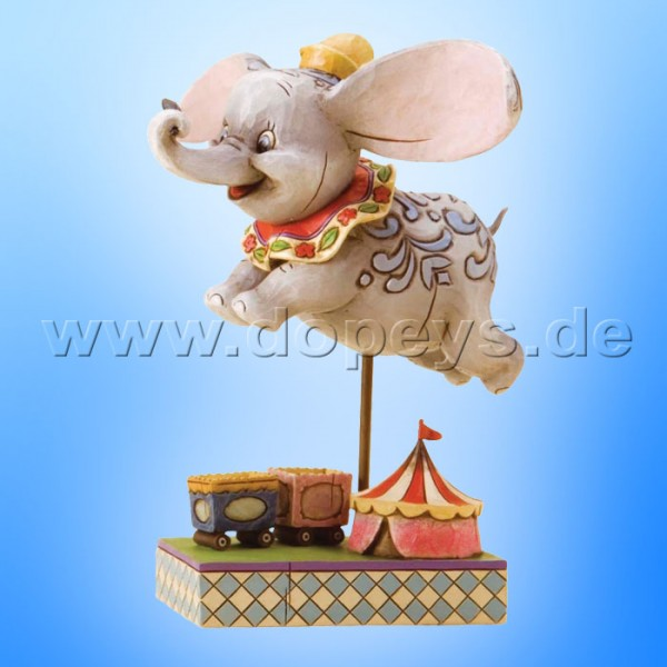 "Disney Traditions / Jim Shore Figur von Enesco. ""Faith in Flight (Dumbo)"" 4010028."