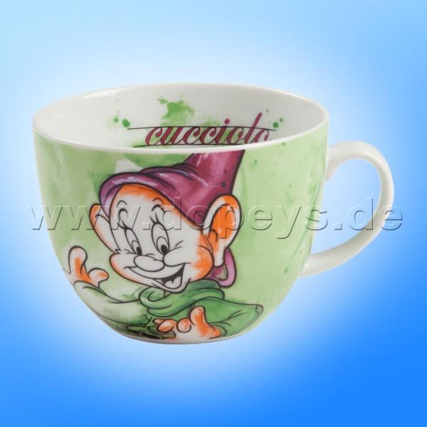 "Große Disney Cappuccino Tasse ""Seppl"" italienisches Design, 60 cl"