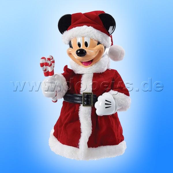 """Kurt S. Adler - Disney Weihnachtsbaumspitze """"Mickey Maus"""" mit beweglichen Armen DN9168"""