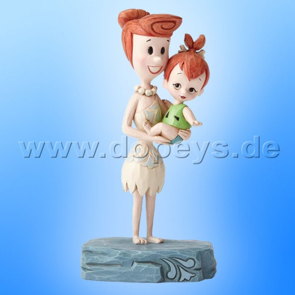"The Flintstones / Jim Shore Figur von Enesco.""Beautiful Bond (Wilma & Pebbles Feuerstein)"" 4051594."