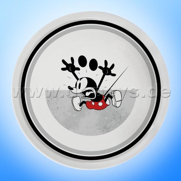 """Disney Pizzateller / Servierplatte / Tortenplatte """"Grau"""" Mickey I Am, im italienischen Design PWM37AM-5GR"""