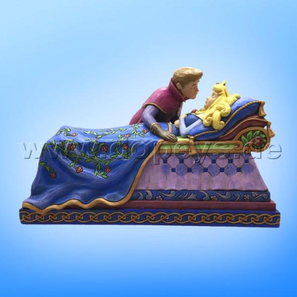 "Disney Traditions / Jim Shore Figur von Enesco ""The Spell Is Broken (Dornröschen's Kuss)"" 4056753."