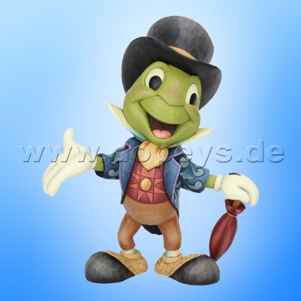 Cricket's the Name. Jiminy Cricket (Jiminy Grille, sehr groß) Figur von Disney Traditions / Jim Shore - Enesco 6005972