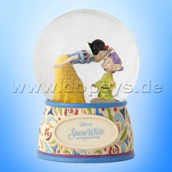 Sweetest Farewell (Schneewittchen mit Seppl Schneekugel) Figur von Disney Traditions / Jim Shore - Enesco 4060098