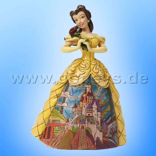 "Disney Traditions / Jim Shore Figur von Enesco. ""Enchanted (Belle)"" 4045238."