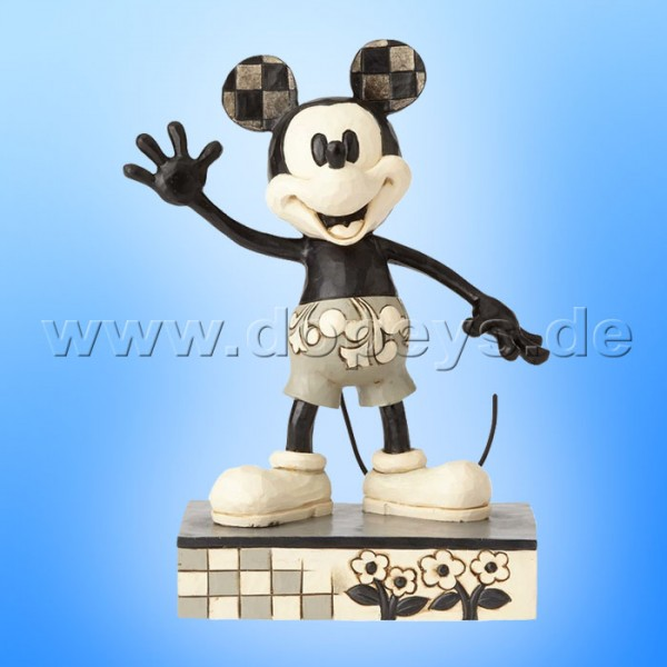 "Disney Traditions / Jim Shore Figur von Enesco ""Big-hearted Hero (Mickey Get A Horse)"" 4056757."