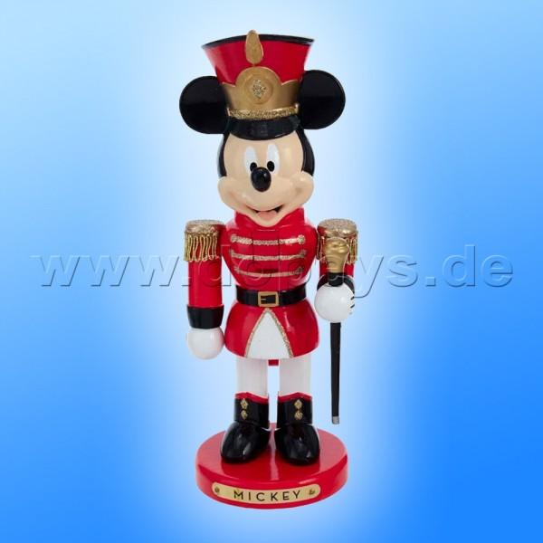 "Kurt S. Adler - Disney Nussknacker ""Mickey Maus"" als Spielmannszug-Stabführer DN6201L"