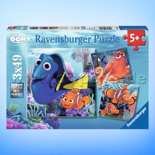 """Disney Puzzles """"Findet Dorie"""" von Ravensburger 09345"""